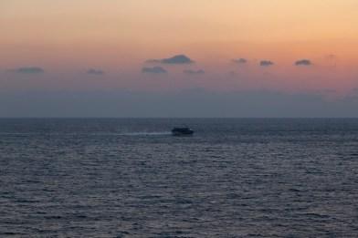 Dusk Departure From Kagoshima