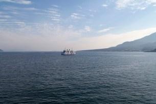 Boat To Sakurajima