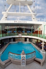 Diamond Princess, Sanctuary Pool