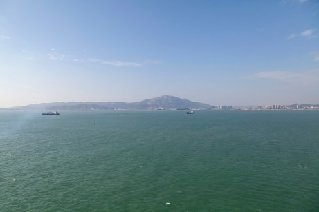 Cruising Towards Xiamen