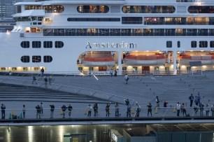 Holland America Amsterdam Cruise Ship