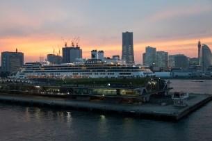 Diamond Princess, Yokohama Departure