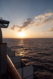 Diamond Princess, South China Sea Sunset