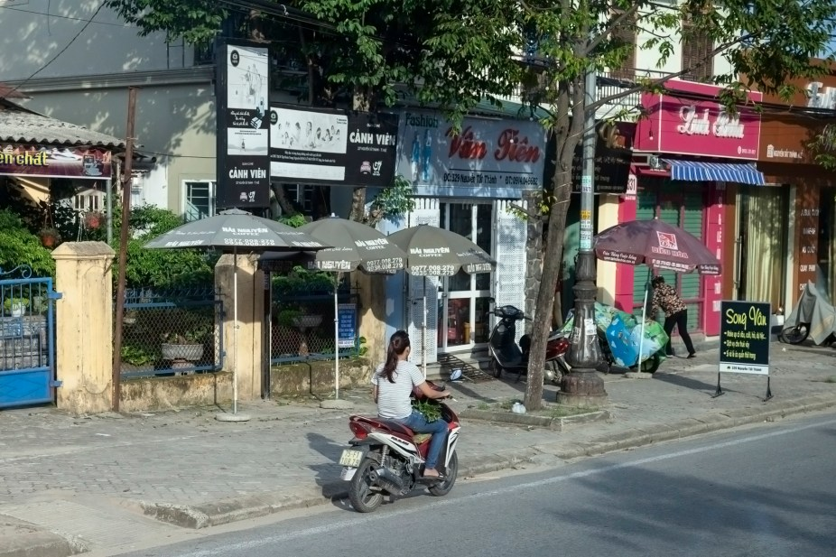 Bike On Vietnam Road