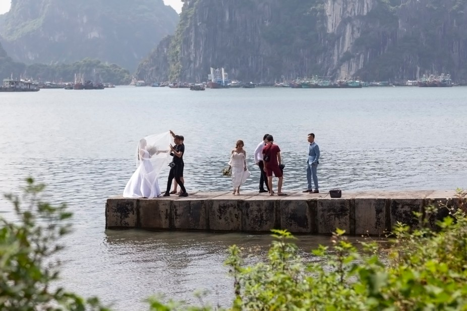 Ha Long Bay Wedding Shoot