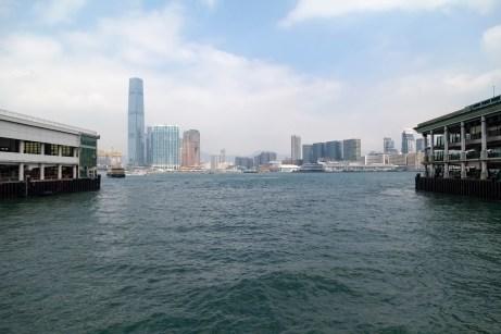 Mainland From Hong Kong Island
