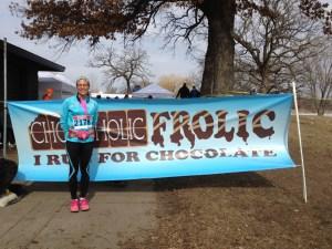 At the Chocoholic Frolic 10K