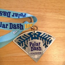 2014 Polar Dash Finishers Medal
