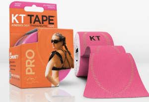 KT Tape in Neon Pink