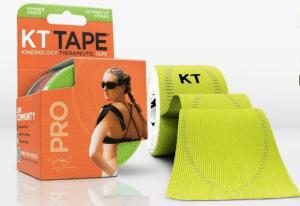 KT Tape in Neon Green