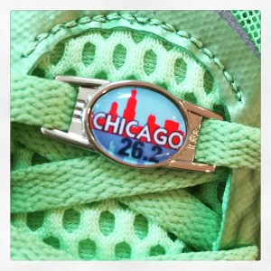 Chicago Marathon Charm by Charmed Running