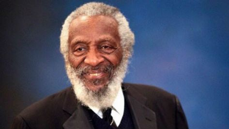 Dick Gregory has spoken out about 9/11, the lunar landing hoax and chemtrails