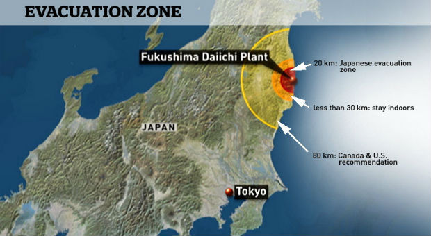 a record high amount of radiation levels has been recorded at fukushima resulting in a state of emergency