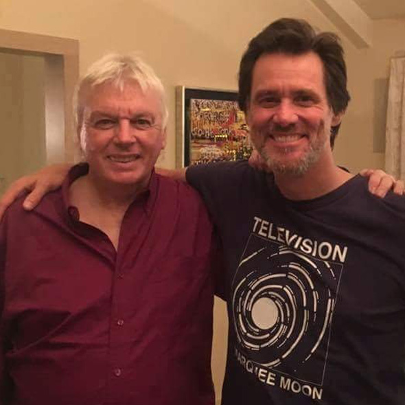 jim carrey pictured with close friend and illuminati researcher david icke