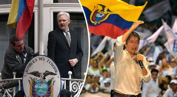 julian assange may be kicked out of the ecuadorian embassy if guillermo lasso wins the presidential election