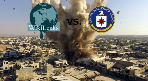 wikileaks hemical attack on syrian civilians was engineered by us intelligence