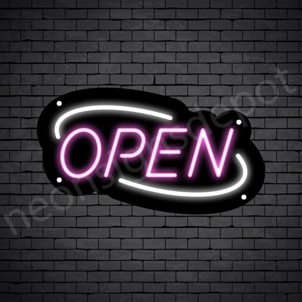 Deco Open Neon Pink White