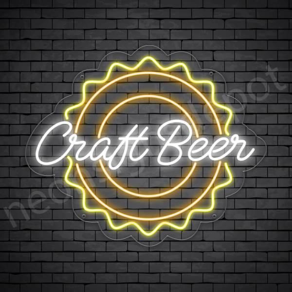 Beer Neon Sign Craft Beer - Transparent