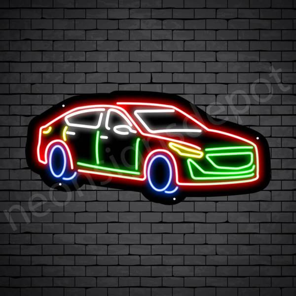 Car Neon Sign Cadillac CT5 Black- 24x11