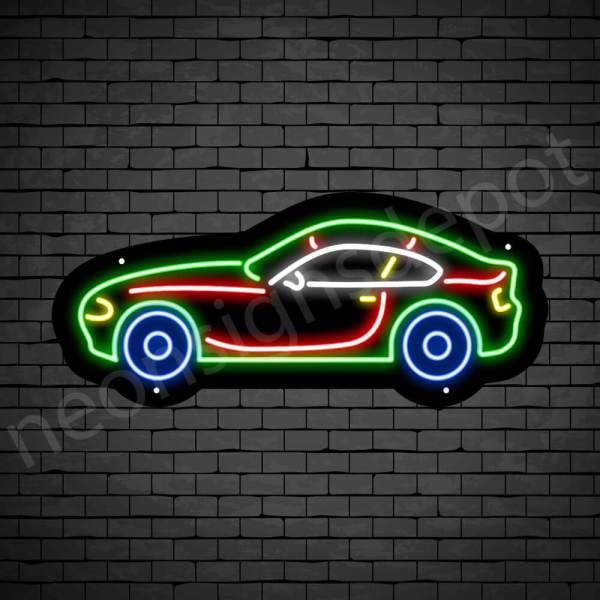 Car Neon Sign BMW Car 24x10
