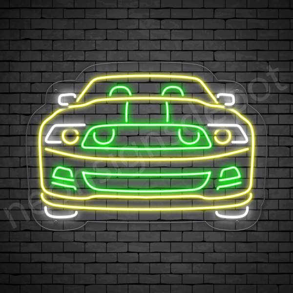 Car Neon Sign New Ford Pick Up Transparent -30x21