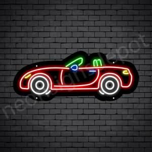 Car Neon Sign Jaguar Style 24x10