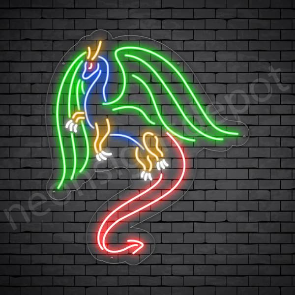 Fly Dragon Neon Sign