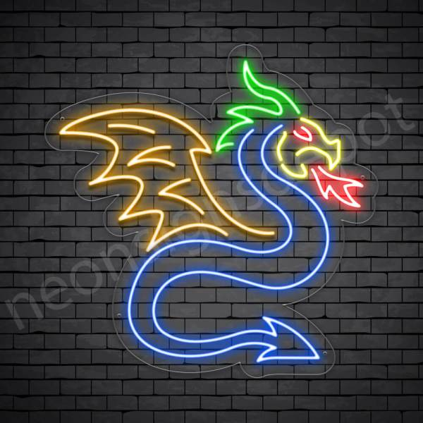 Dragon Neon Sign Longwei Dragon