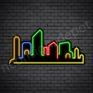 Romantic Place Neon Sign - black