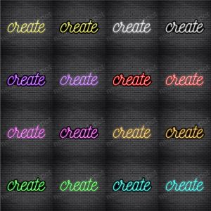 Create V5 Neon Sign
