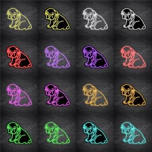 Bulldog V1 Neon Sign
