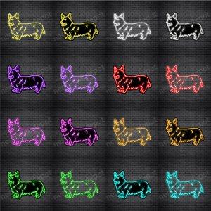 Corgis Dog V3 Neon Sign
