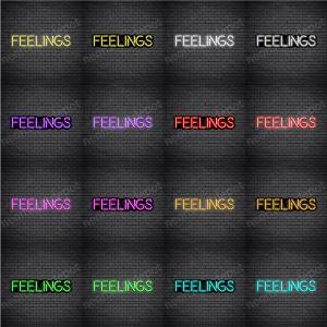 Feelings V1 Neon Sign
