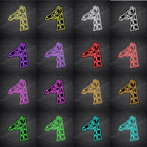 Giraffe V1 Neon Sign