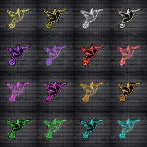 Hummingbird V1 Neon Sign