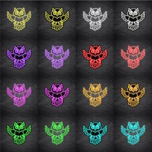 Owl V5 Neon Sign