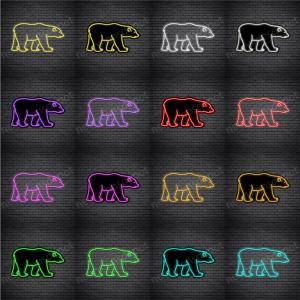 Polar Bear V3 Neon Sign