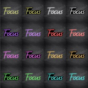 Focus V2 Neon Sign