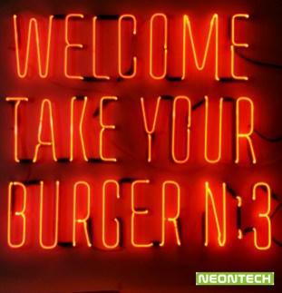 burger neon