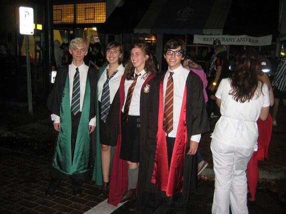 Image result for harry potter group dress up