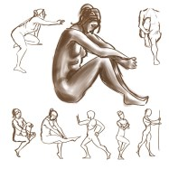 daily gesture drawing 2015-02-13