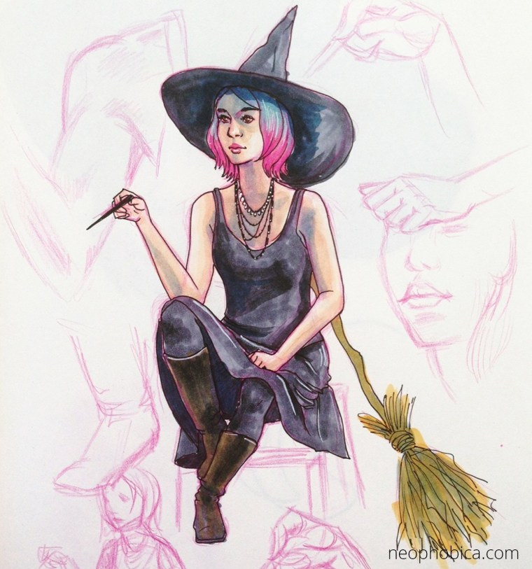 Pink-Haired-Witch-1