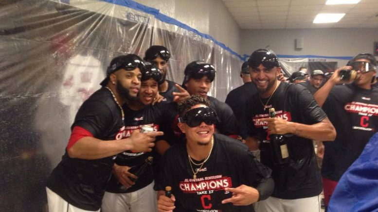 Image result for 2017 Cleveland Indians American League Central champs