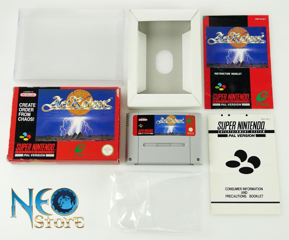 ActRaiser Super Nintendo SNES Version PAL