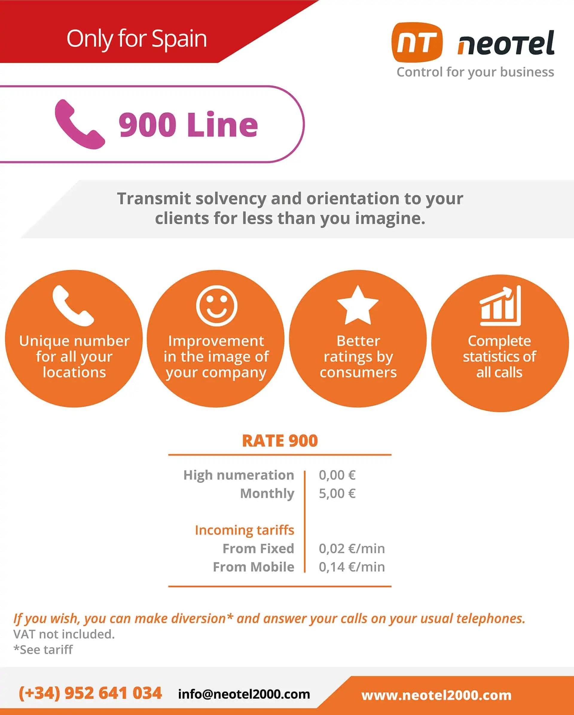 hire line 900