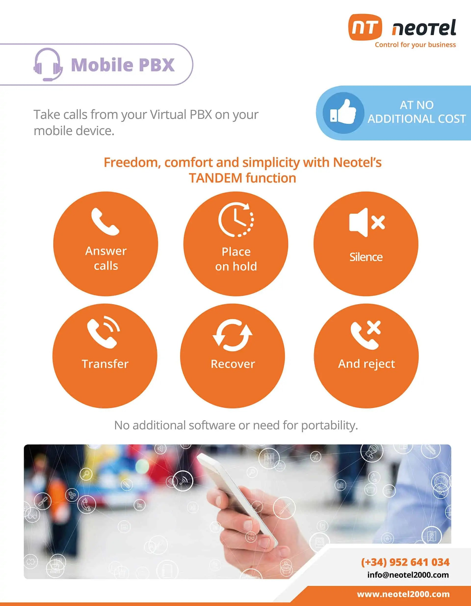 mobile virtual pbx