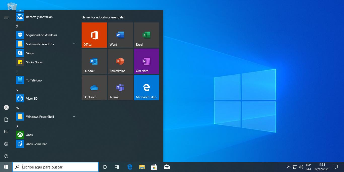 cómo restaurar windows 10