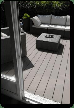 tarimas para exterior en madera tecnologica