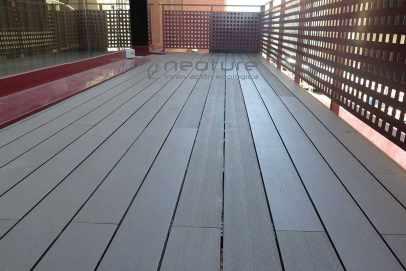 suelo composite terraza hotel