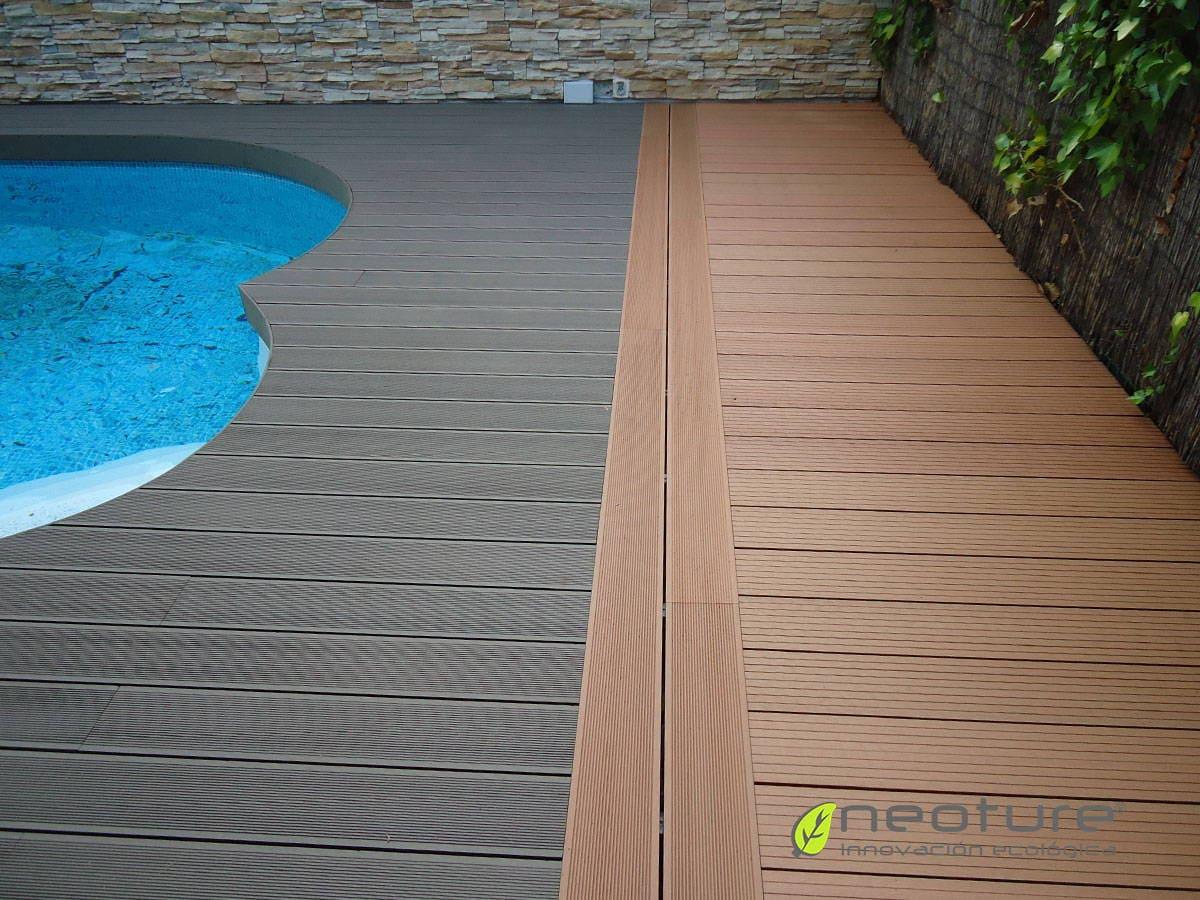 Tarima tecnologica para exterior la madera de alta - Maderas de exterior ...